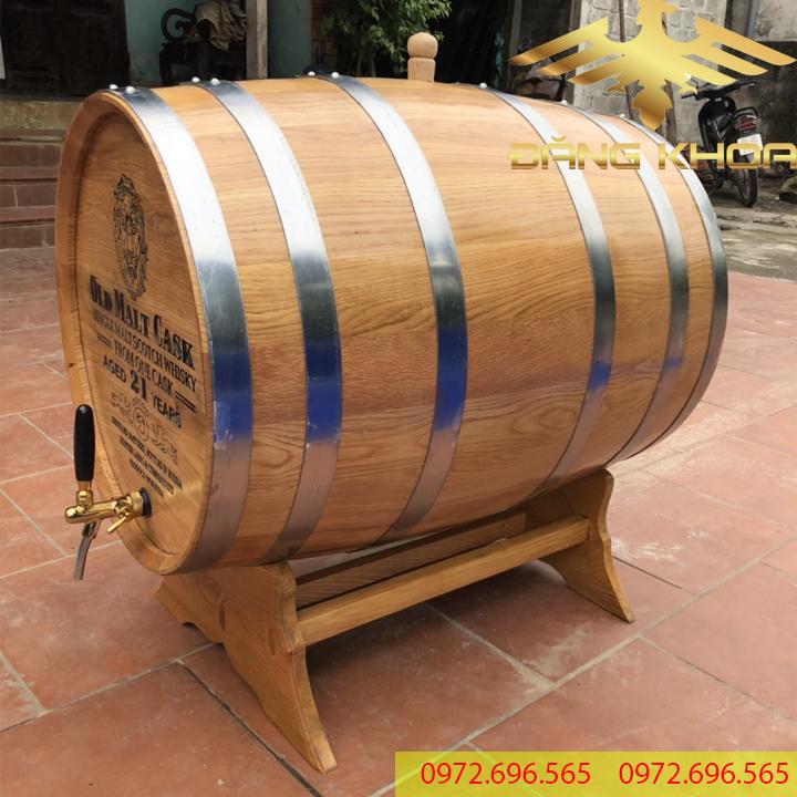 Thùng gỗ sồi 200l