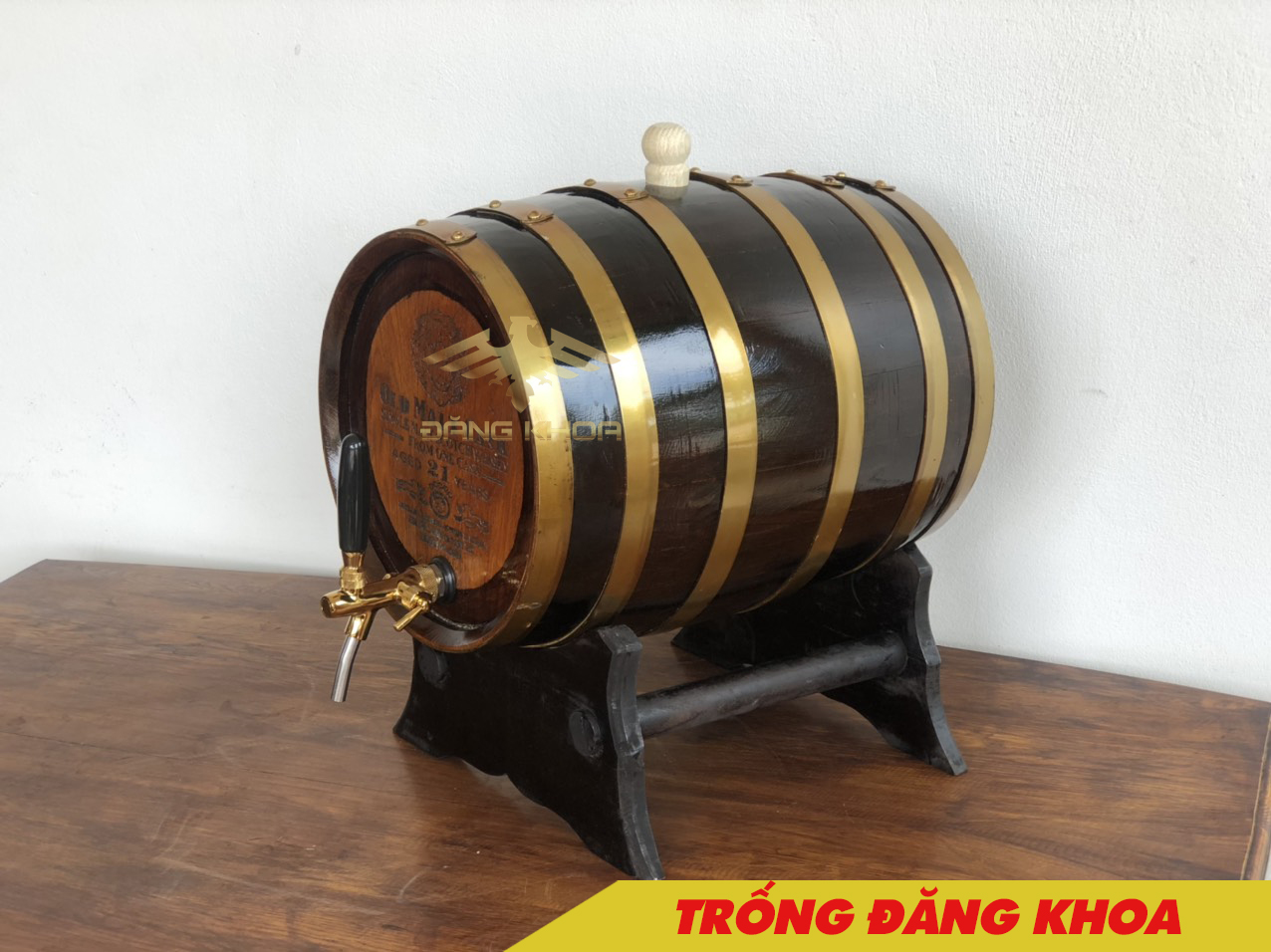 Đặc điểm cơ bản của thùng gỗ sồi 30L tiêu chuẩn